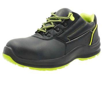 Arctos E Sicherheits-Halbschuhe S3, schwarz/grün