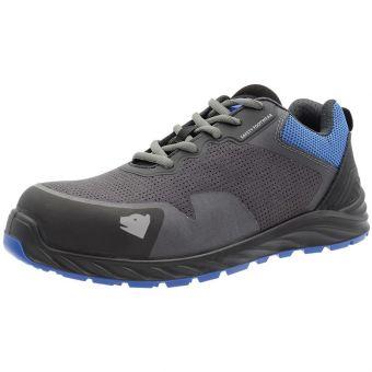Arctos L Sicherheits-Halbschuhe S3 ESD, schwarz/blau