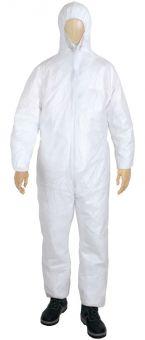 PP-Einwegoverall Weiß Overall   M   Weiß