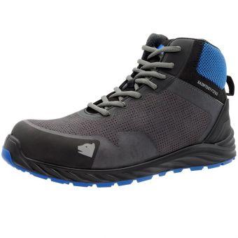 Arctos L Sicherheits-Hochchuhe S3 ESD, schwarz/blau