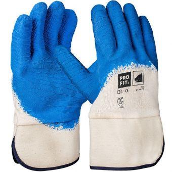 Naturgummi-Handschuhe mit Sicherheitsstulpe