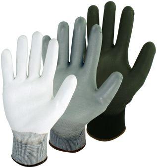 PU-beschichtete Feinstrick Handschuhe Pro-Fit PU besch. | 7 | Weiß