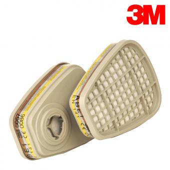 3M ABE1 Filterpatrone 6057 gegen Gase & Dämpfe ABE