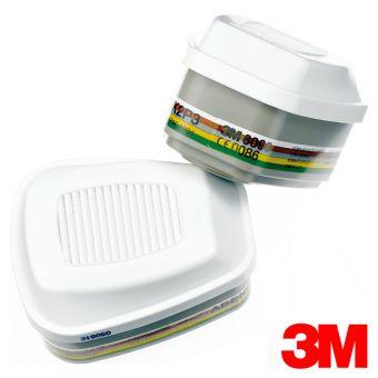 3M ABEK2HgP3R Filter 6099 Gase, Ammoniak & Partikel ABEK2