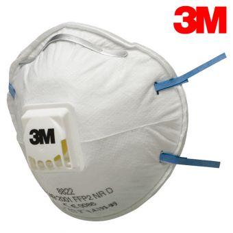 3M 8822 FFP2 Feinstaubmaske mit Ausatemventil FFP2
