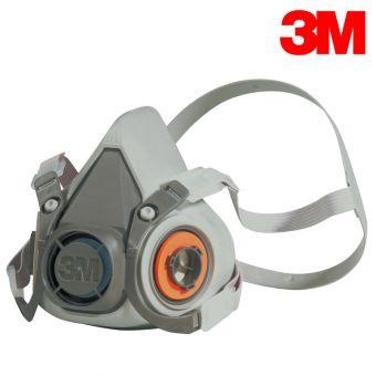 3M Doppelfiltermasken 6100, 6200 und 6300 Halbmasken