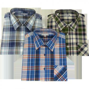 Hanco® Langarm-Hemd in verschiedenen Farben