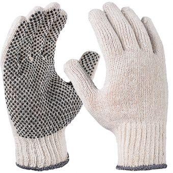 Benoppte Strickhandschuhe aus Mischgewebe