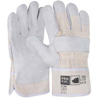 Rind-Kernspaltleder-Handschuhe