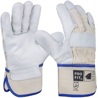 Rind-Vollleder-Handschuhe ODIN, 1,4mm
