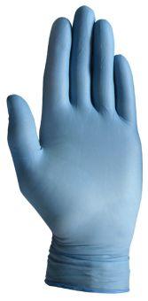 100 Stk. hochwertige Nitril Einmalhandschuhe Ungepudert | S | Med. Blau