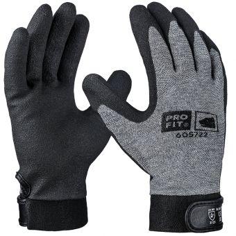 Montage-Handschuhe mit Klettverschluss 6 | schwarz/grau