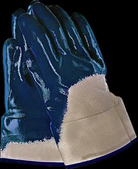 Nitril Arbeitshandschuhe mit Stulpe 10