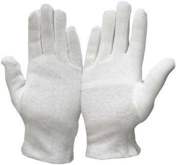 Weißer Profi Baumwollhandschuh Standard | 06 | Weiß