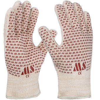 Wärmeschutz-Handschuh mit Nitril-Benoppung 10