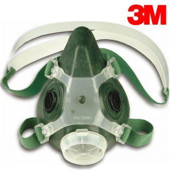 3M Doppelfiltermasken 7002 und 7003 Halbmasken