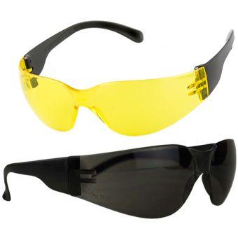 super leichte Sonnen- und Schutzbrille 007 007 | Schwarz