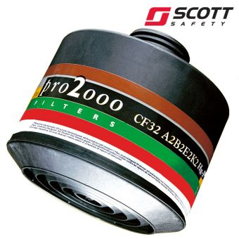 Scott Pro2000 ABEK2HgP3 Gasfilter ABEK2HgP3
