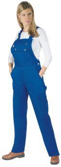Damen Latzhose Eco-Star 100% Baumwolle Damen | 34 | Khaki