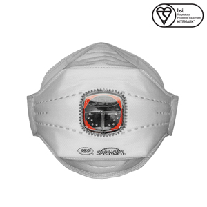 JSP 435 FFP3 SpringFit Atemschutzmaske mit Ventil FFP3