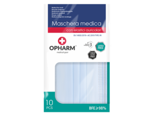 Opharm 10er 3pl-Mask / Typ-2-R / Made in EU TYP2R