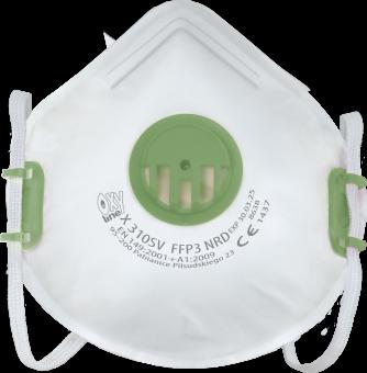 FFP3 Atemschutzmaske mit Ventil Oxyline X310SV NR D P3D