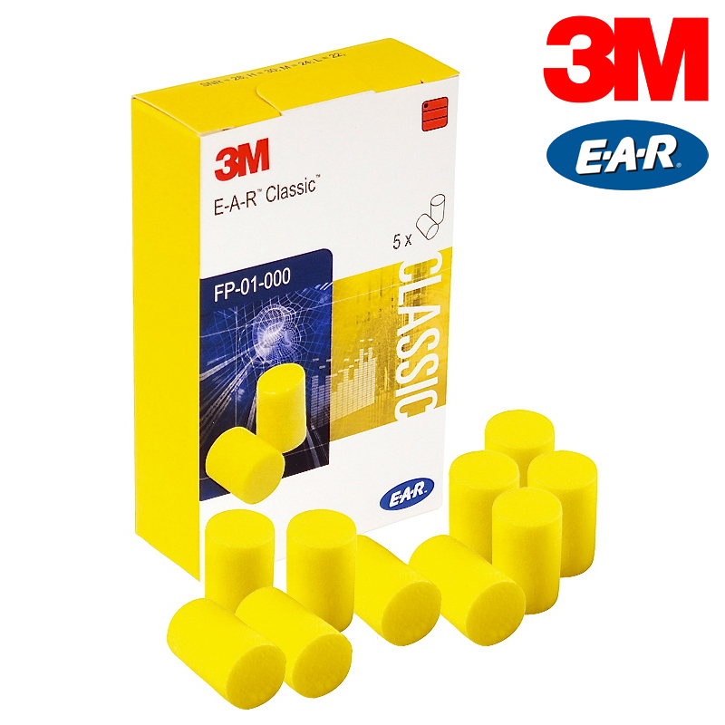 3m ear classic ii fp01200 geh rschutzst psel 5er box paar for Classic 3