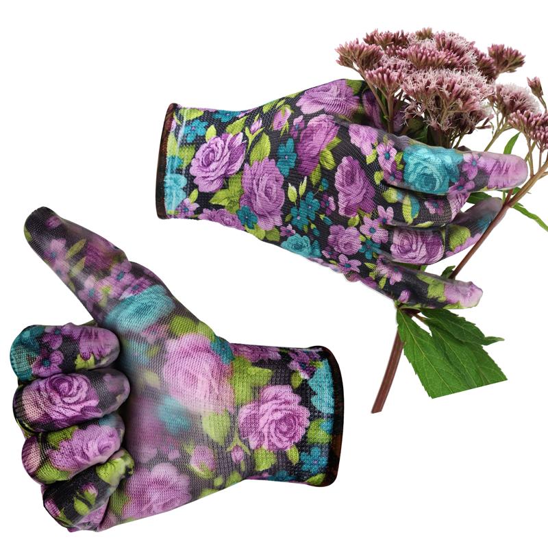 gartenhandschuhe damen garden queen blumen rosen. Black Bedroom Furniture Sets. Home Design Ideas