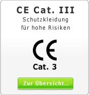 DIN CE Cat. 3 Schutzkleidung für hohe Risiken