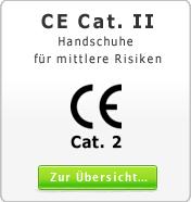 DIN EN CE Cat. 2 Handschuhe f�r mittleren Risiken