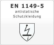 DIN EN 1149-5 antistatische Schutzkleidung