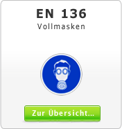 DIN EN 136 Atemschutzgeräte Vollmasken