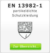 DIN EN 13982-1 partikeldichte Schutzkleidung