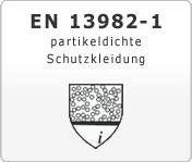 EN 13982-1 partikeldichte Schutzkleidung