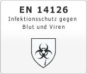 DIN EN 14126 Infektionsschutz gegen Blut und Viren