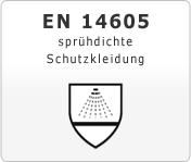 DIN EN 14605 sprühdichte Schutzkleidung