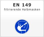 DIN EN 149 Atemschutzgeräte filtrierende Halbmasken