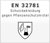 DIN EN 32781 Schutzbekleidung gegen Pflanzenschutzmittel