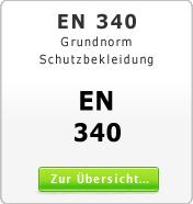 DIN EN 340 Grundnorm f�r Schutzkleidung