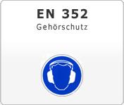 DIN EN 352 Gehörschutz