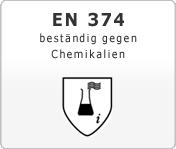DIN EN 374 Schutzhandschuhe gegen Chemikalien