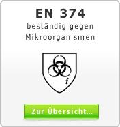 DIN EN 374 Schutzhandschuhe gegen Mikroorganismen