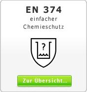 EN 374 einfacher Chemieschutz