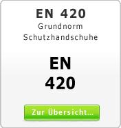 DIN EN 420 Grundnorm für Schutzhandschuhe