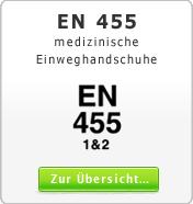 DIN EN 455 medizinische Einweghandschuhe
